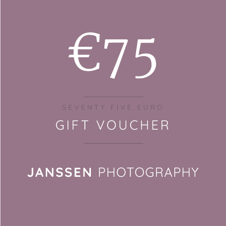 €75 Gift Voucher | Professional Photography | Bray
