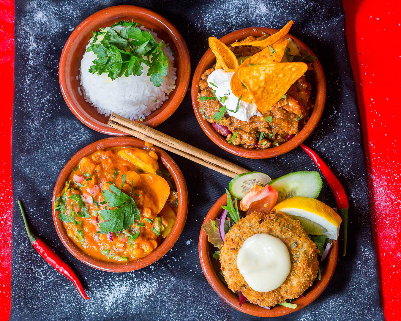 Tapas with spices | Personal Brand Photographer