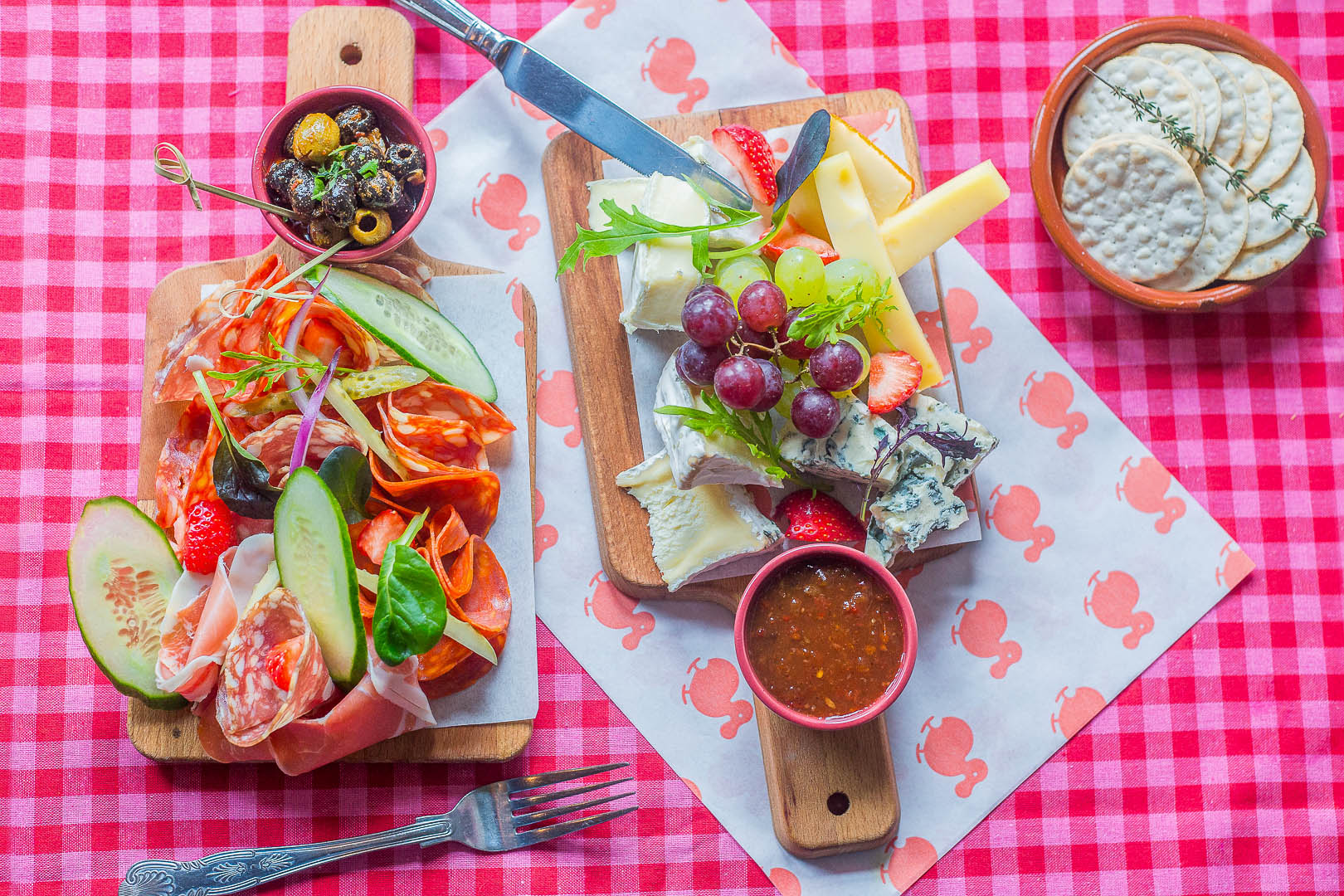 Cold meat and cheese platter   Food Photographer